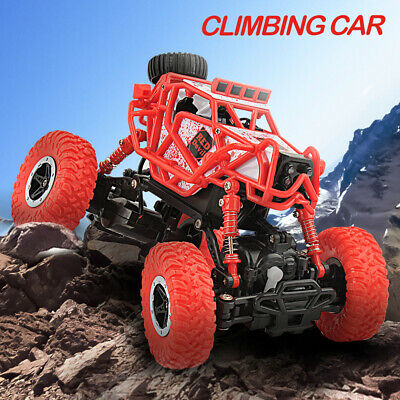 1:43 4WD Drive Rock Crawler Off-road Cars Remote Control RC Toys Trucks Electric