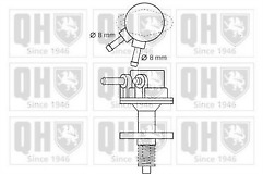 First Line FFP453 Fuel Pump for Vauxhall Astra 79-94 Cavalier 75-81