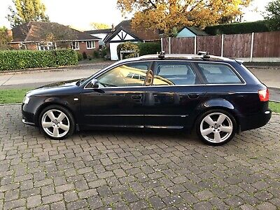 AUDI A4 S LINE AUTOMATIC TDI 56 PLATE 86,976 miles