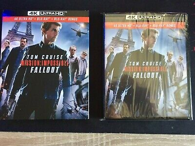Mission Impossible FALLOUT Blu-ray 4k + Blu-ray + Blu-ray bonus Comme neuf