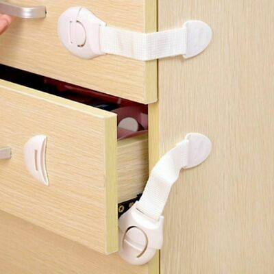 Drawer Locker Baby Safety Cabinet Door Lock Children Protection Kids 1 Pack New