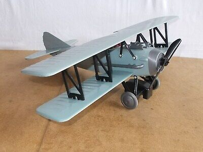VERY RARE vintage toy - TOMY japan - 1/20 SPAD S XIII ww1 fighter biplan - 60s