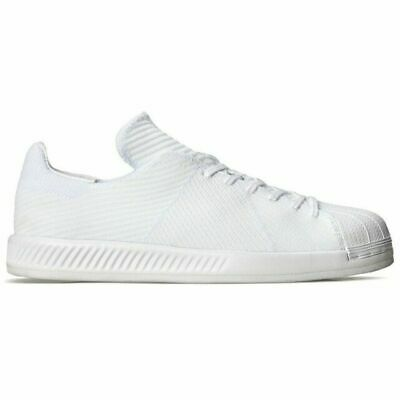 ADIDAS ORIGINALS SUPERSTAR Bounce White Primeknit Trainers