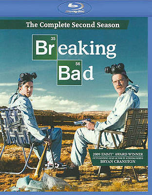 Breaking Bad: The Complete Second Season (Blu-ray Disc, 2010, 3-Disc Set)