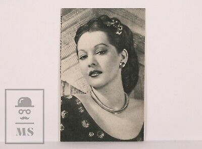 Original 1940's Cinema Movie Actress Postcard - Nº 53, Maria Montez