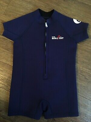Two Bare Feet Kids Navy Blue Baby Boy Wetsuit Age 2-3 years