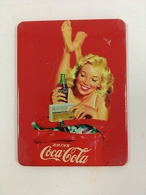 Retro Coca-Cola Coke Fridge Magnet Advertising Pin Up FREE SHIPPING Bar Pub