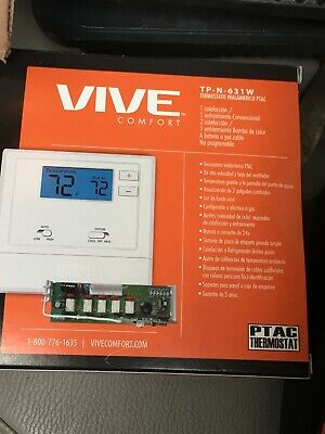 Vive Comfort Tp N 631 W Thermostat Wireless 5 Used