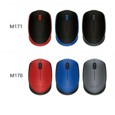 Logitech Wireless Optical Mouse M170  many colors to choose from **NEW**