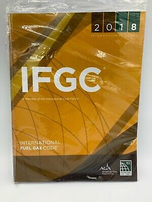 IFGC 2018 International Fuel Gas Code PAPERBACK
