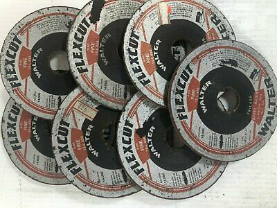 Walter Flexcut Grinding Wheel A-36 and A-60 (Lot of 9)