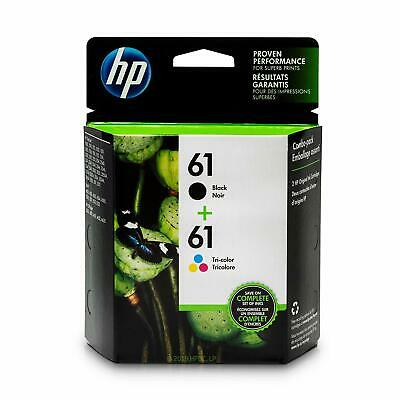 HP 61 Combo 2pack Ink Cartridges Black and Color