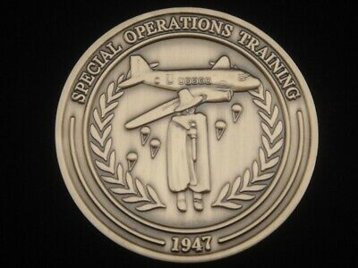 Central Intelligence Agency CIA Special Operations Training Challenge Coin V1 NR
