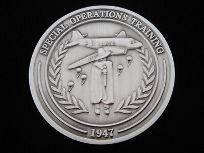 Central Intelligence Agency CIA Special Operations Training Challenge Coin V2 NR