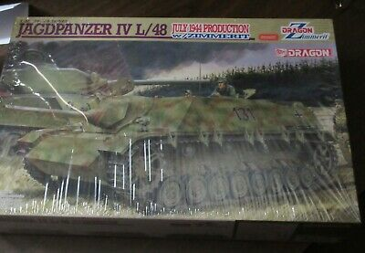 1/35 Dragon Jagdpanzer IV L/48 July1944 production w/ Zimmerit sealed