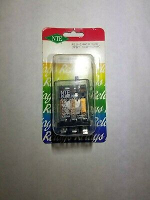 NEW NTE R10-14A10-12B 12 Volt AC Coil, 10 Amp 3PDT General Purpose Relay