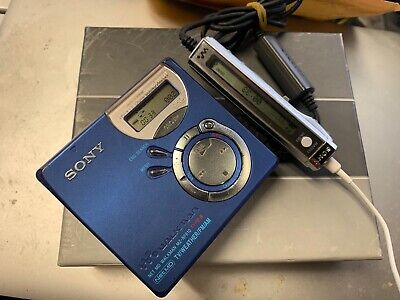 Sony Walkman Minidisc Recorder MZ-NF610 good working condition