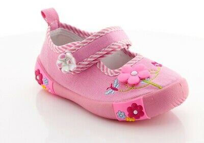 AMERICAN CLUB Girls Kids TODDLER Canvas shoes trainers 4-8UK Real Leather insole