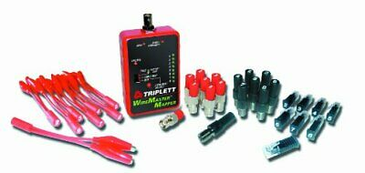 Triplett WireMaster 8-Way Wire-Cable Mapping Kit -Tracer Tone, 39 Remotes, & Car