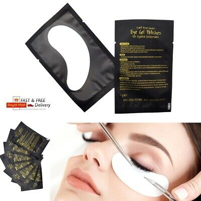 Lint Free Gel Eye Patches Mask Eyelash Extensions Makeup Professional Eye Pads