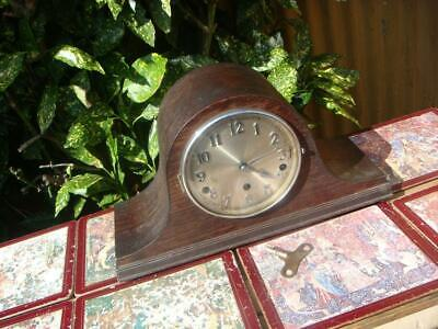 Vintage Westminster  & Whittington  Chimes  Mantle Clock &  Key & Pendulum