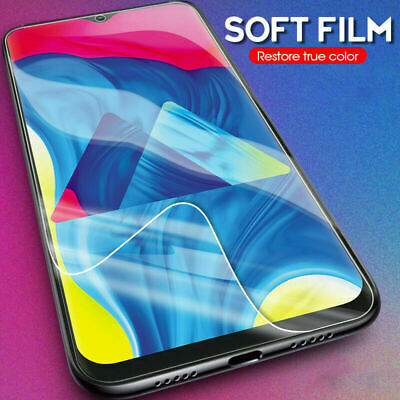 For Samsung S10 Plus S8 S9 Note 10 Plus PET Soft Clear Screen Protector Film