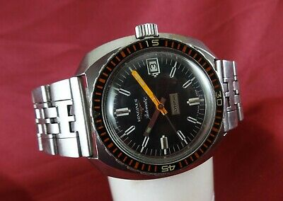 LONGINES Automatic Olympian 7970-4 Watch. Caliber 6652. Date. Ca 1972