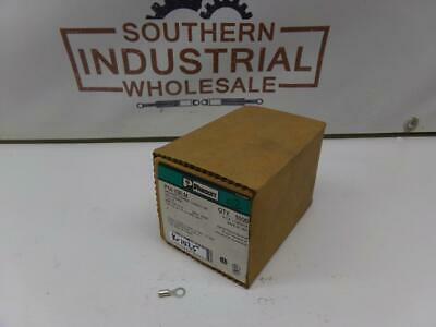 Panduit P14-10R-M 18-14 AWG Non-Insulated Ring Tongue Terminal Lot of 50