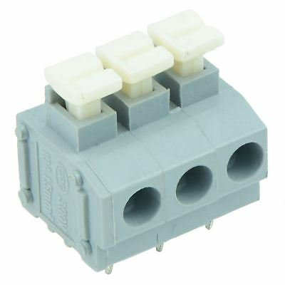 25 x 3-Way Screwless 5.00mm Terminal Block