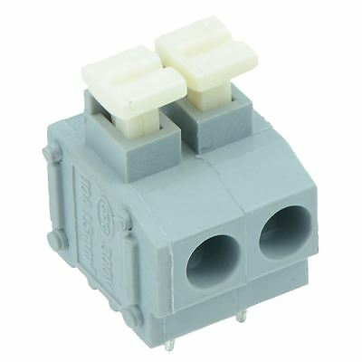 25 x 2-Way Screwless 5.00mm Terminal Block
