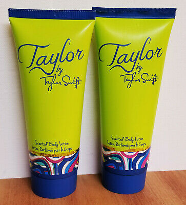 Taylor by Taylor Swift Scented Body Lotion 3.4 fl. oz. (2 Pack) New Unboxed!