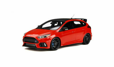 NEW Otto MK3 Ford Focus RS Red Edition 1/18 Scale Resin Model