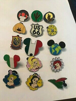 15 Disney Themed Pins Lot B