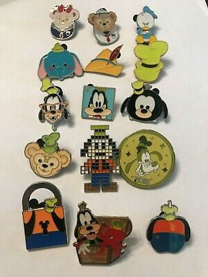 15 Disney Themed Pins Lot E
