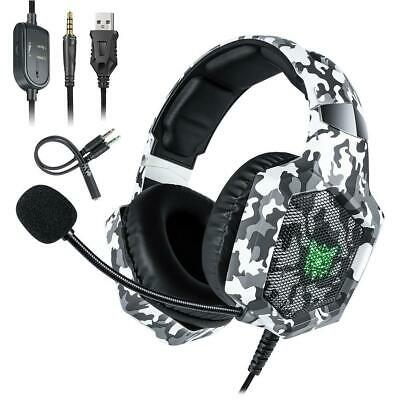 Headset Wired Headphone Stereo Noise Cancelling W /mic for Xbox -One S KS