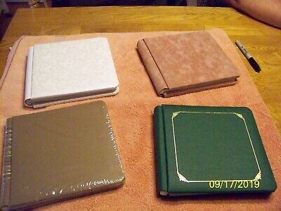creative memories 7 by 7 scrapbooks lot of 4