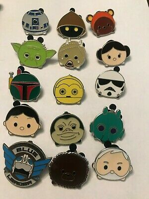 15 Disney Themed Pins Lot I