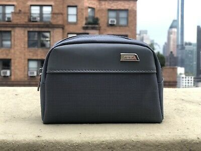 TUMI Delta Airlines Business Class Amenity / Toiletry Kit - NEW Gray (2019)