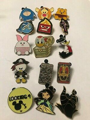 15 Disney Themed Pins Lot R