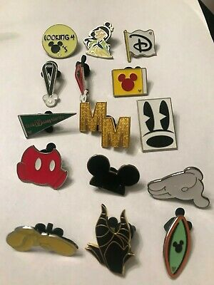 15 Disney Themed Pins Lot S