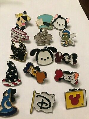 15 Disney Themed Pins Lot U