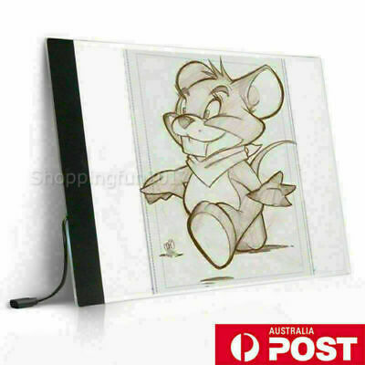 A3 A4 USB LED Art Artist Stencil Board Light Tracing Drawing Pad Table Box GIFT