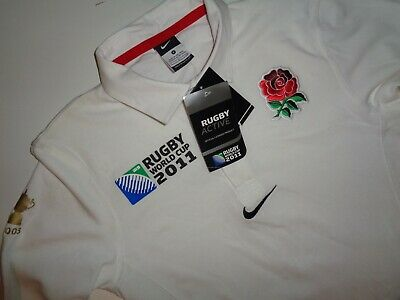 England 2011 rugby world cup shirt, small mens jersey, NEW