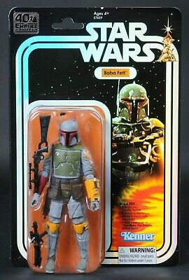"2019 SDCC Hasbro Star Wars Black Series Boba Fett 6"" 40th Anniversary Exclusive"