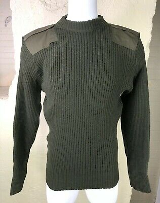 US Marine Corps USMC Military Wool Service Sweater Mens Size 48 Mitts Nitts DSCP