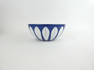 CATHRINEHOLM Blue LOTUS Bowl NORWAY Mid-century 1960s