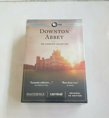 Downton Abbey The Complete Series DVD Seasons 1-6 And Bonus Disks 1 2 3 4 5 6