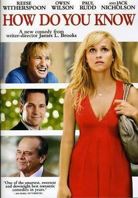 How Do You Know - DVD By Reese Witherspoon - VERY GOOD