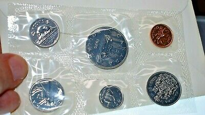 1979 Canada Proof-Like Coin Set By Royal Canadian Mint