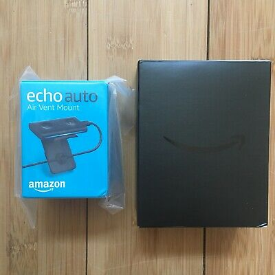 Amazon Echo Auto Alexa for your Car AND Mounting clip BRAND NEW Factory Sealed